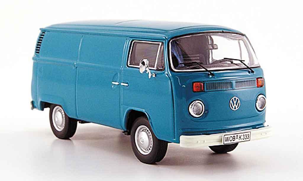Volkswagen Combi 1/43 Premium Cls t 2 b kastenwagen bleu miniature