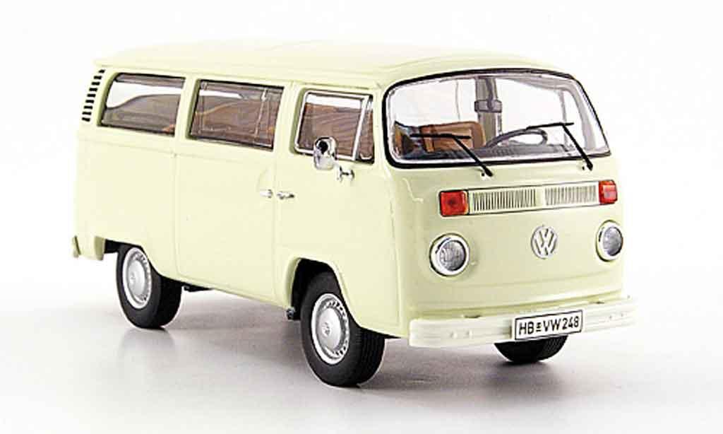 Volkswagen Combi 1/43 Premium Cls t 2 b kombi beige miniature