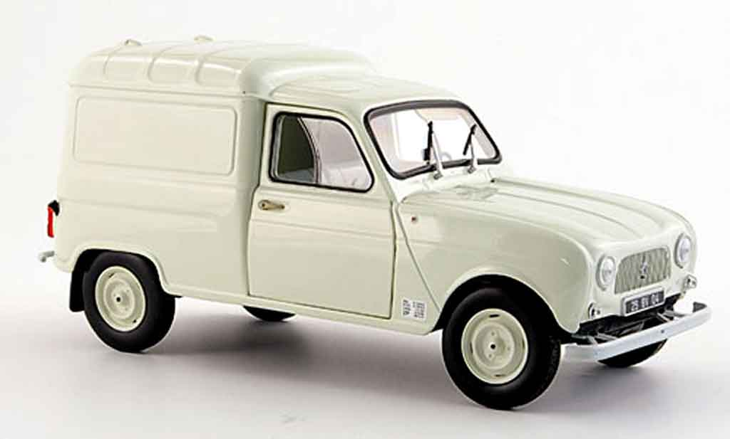 renault 4 f4 r4 f4 creme weiss 1965 norev modellauto 1 18 kaufen verkauf modellauto online. Black Bedroom Furniture Sets. Home Design Ideas