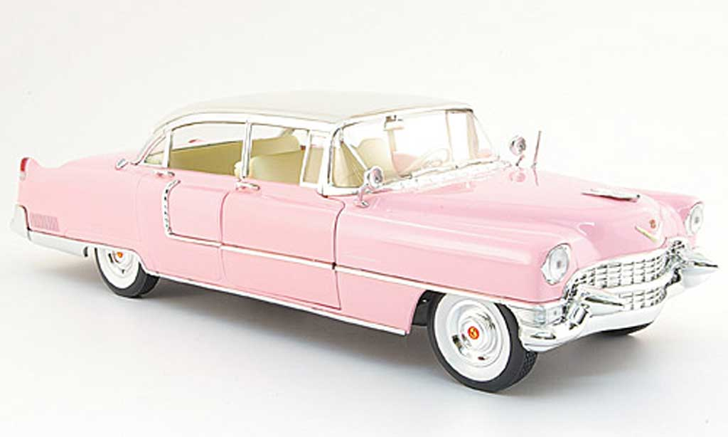 Cadillac Fleetwood 1/18 MRC 60 special pink elvis pink 1955 miniature