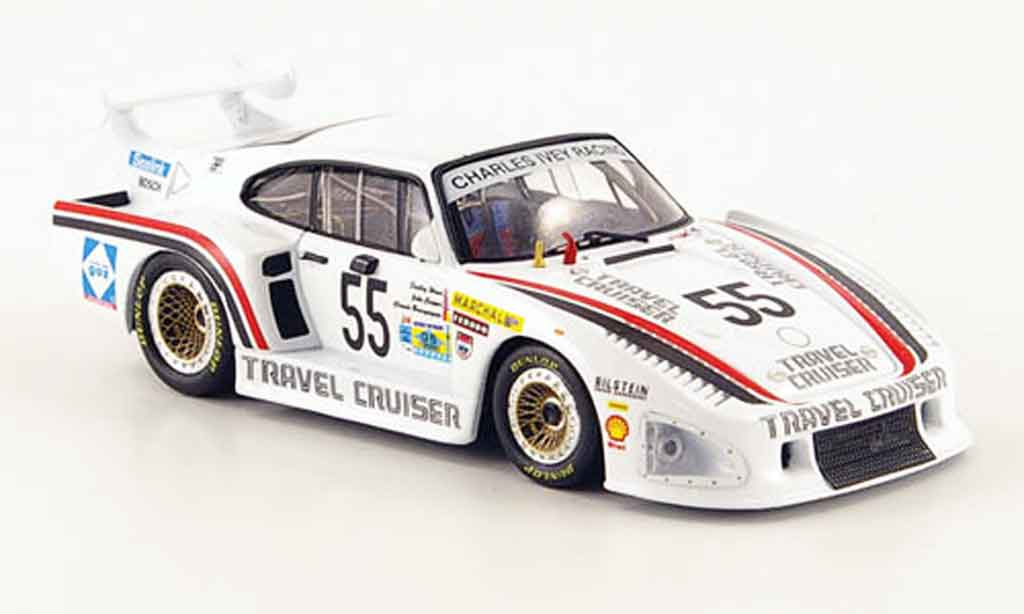 Porsche 935 1981 1/43 Fujimi K3 No.55 Travel Cruiser 24h Le Mans miniature