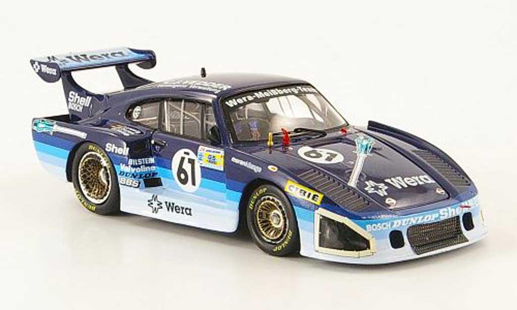 Porsche 935 1981 1/43 Fujimi K3 No.61 Wera 24h Le Mans miniature