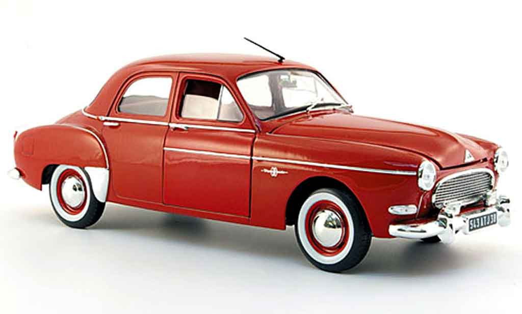 Renault Fregate 1/18 Solido red 1959 diecast model cars