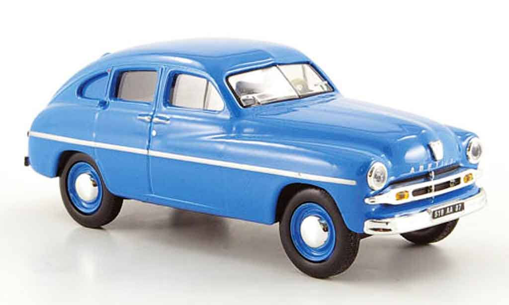 Ford Abeille 1/43 Solido bleu 1954 miniature