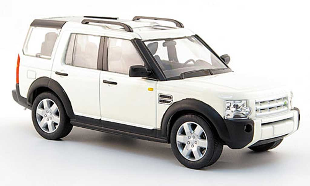 Land Rover Discovery 3 white/black 2004 Solido diecast model car 1 ...