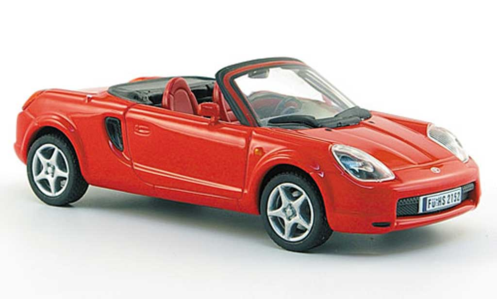 Toyota MR 1/43 Solido 2 (W3) red 2000 diecast model cars