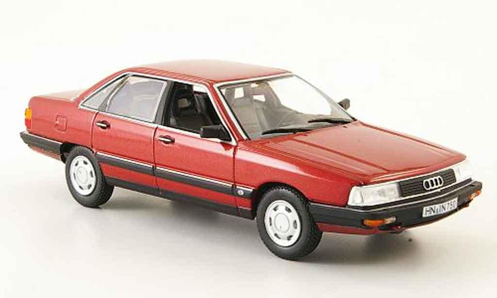 Audi 200 quattro 1/43 Norev rouge 1987