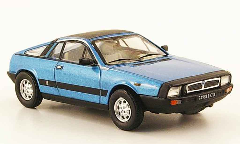 Lancia Beta Monte Carlo Miniature Spider Bleu 1980 Norev 1