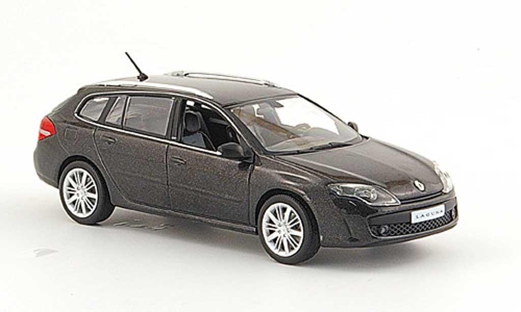Renault Lavertea 1/43 Norev GT Break noire 2008 miniature