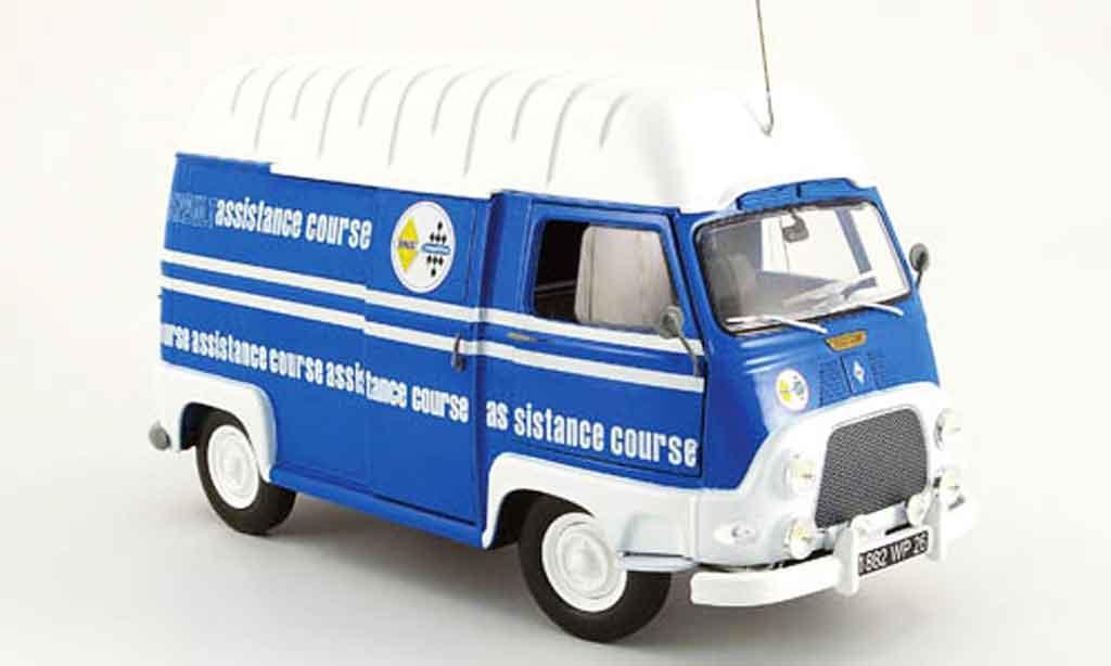 Renault Estafette 1/18 Norev assistance course team alpine 1968 miniature