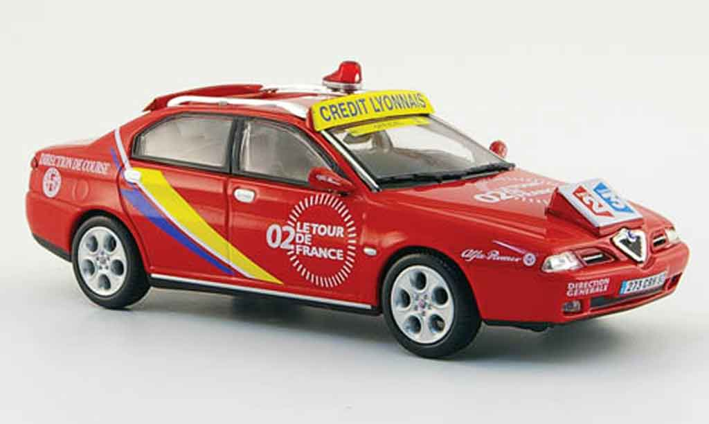 Alfa Romeo 166 1/43 Norev direction de course tour de france 2002 miniature