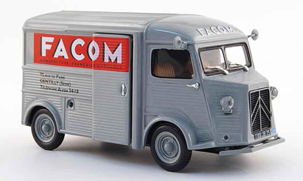 Citroen Type HY 1/43 Norev facom grise 1959 miniature