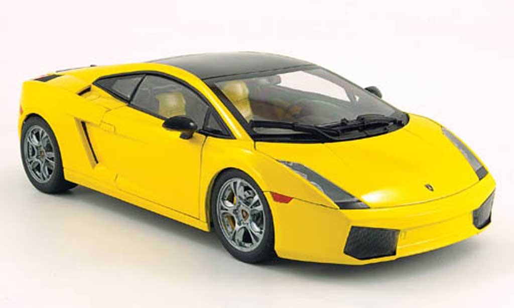 Lamborghini Gallardo SE yellow/black 2005 Norev. Lamborghini Gallardo SE yellow/black 2005 miniature 1/18