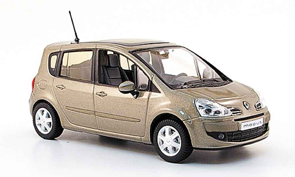 renault grand modus miniature beige 2007 norev 1 43 voiture. Black Bedroom Furniture Sets. Home Design Ideas