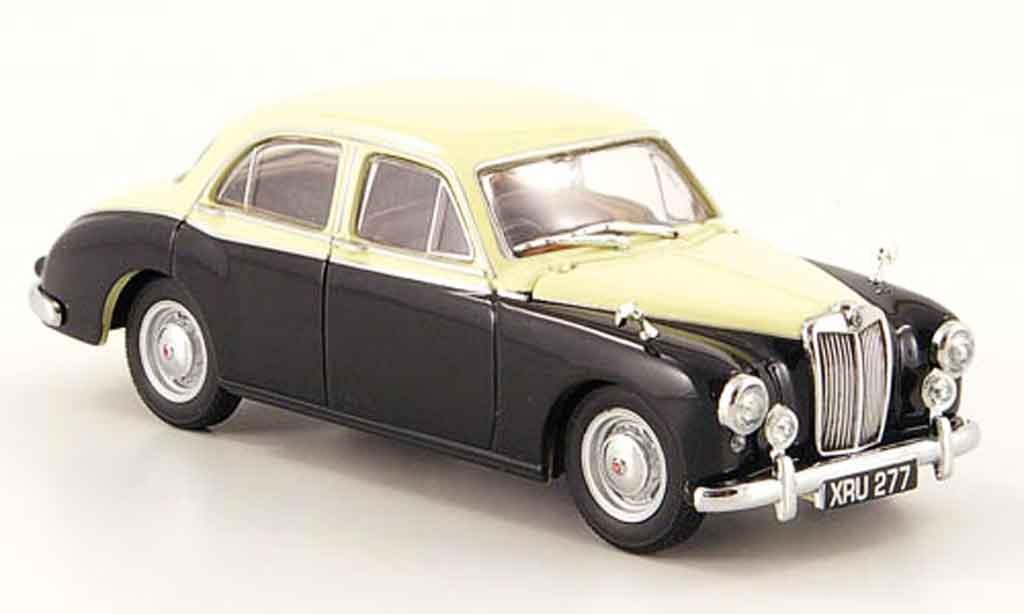 MG ZB 1/43 Oxford Varitone elfenbeinblanche noire miniature