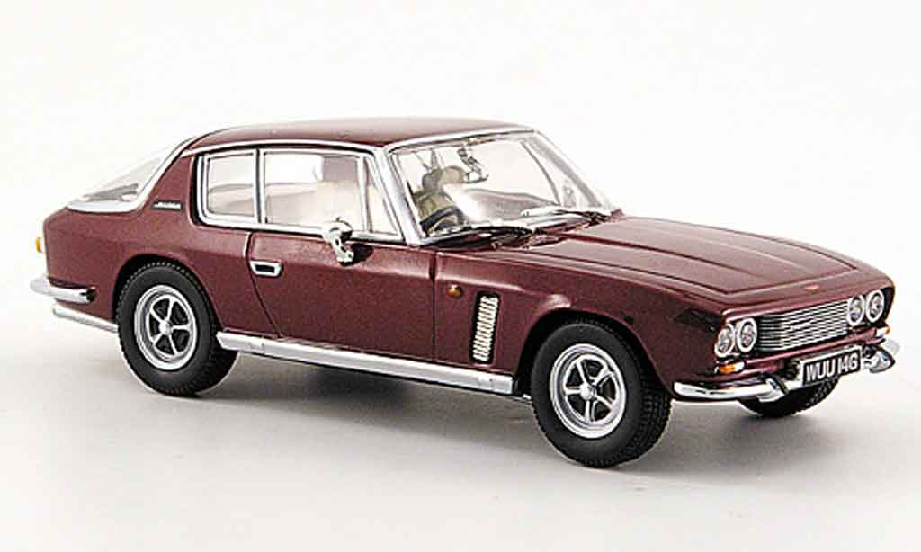 Jensen MK1 1/43 Oxford Interceptor rouge miniature