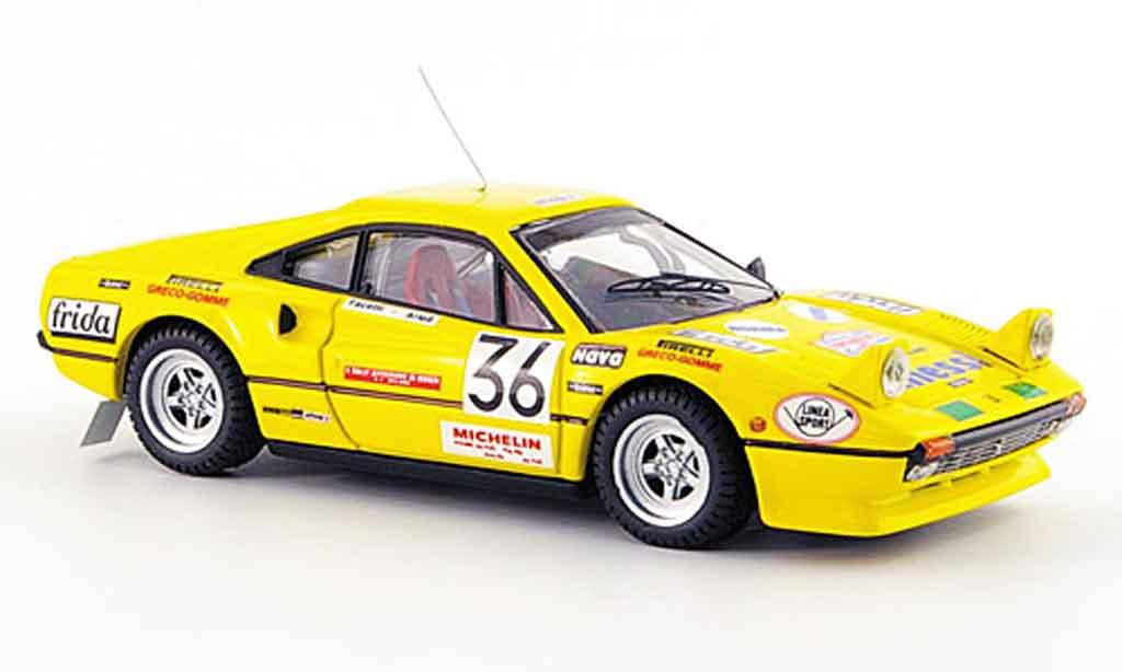 Ferrari 308 GTB 1/43 Best gr. 2 monza no.36 facetti artioli 1983 miniature