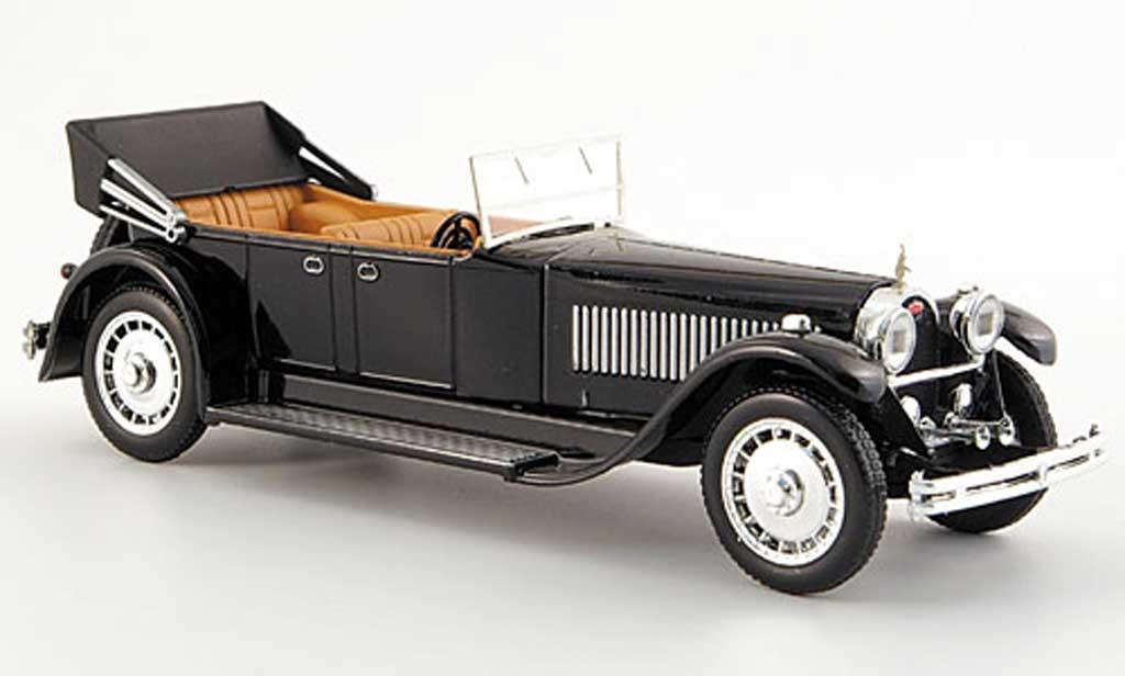 Bugatti 41 1/43 Rio Royale Torpedo noire mit Motornachbildung 1927 miniature
