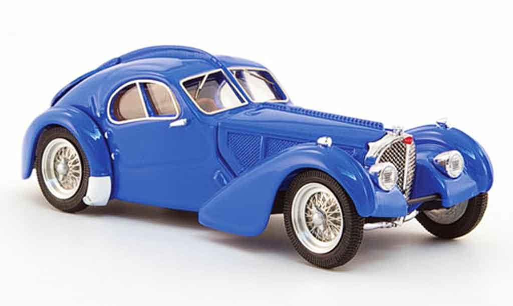 Bugatti 57 SC 1/43 Rio atlantic bleu 1938 miniature