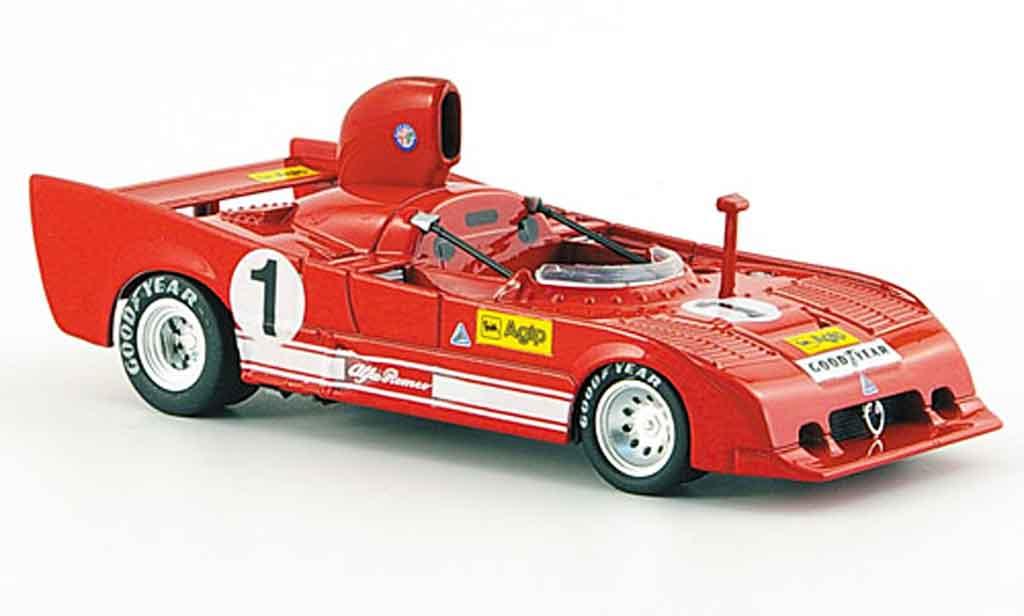Alfa Romeo 33.3 1976 1/43 M4 sc 12 no.1 merzaio casoni coppa florio miniature