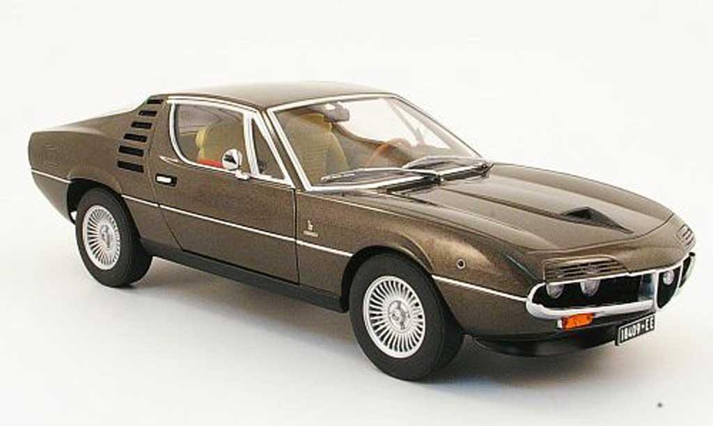 Alfa Romeo Montreal 1/18 Autoart marron 1970 diecast