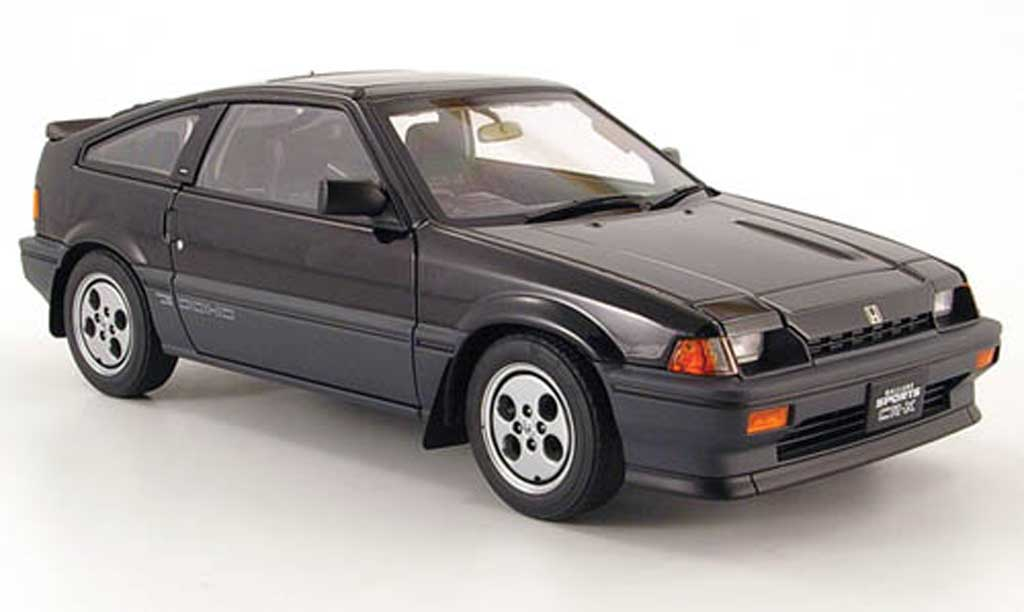 Honda CRX Si 1/18 Autoart Si ballade sports black 1984 diecast model cars