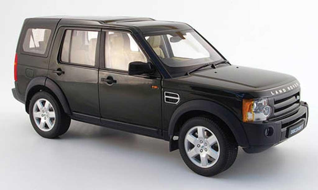 Land Rover Discovery 1/18 Autoart 3 verte 2005 miniature