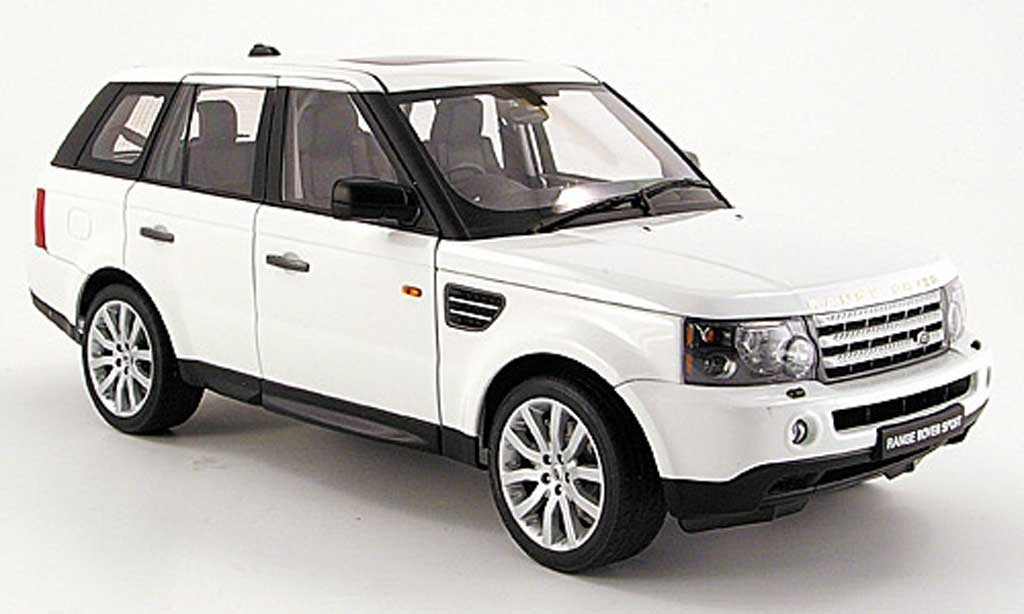 range rover sport weiss 2006 autoart modellauto 1 18 kaufen verkauf modellauto online. Black Bedroom Furniture Sets. Home Design Ideas