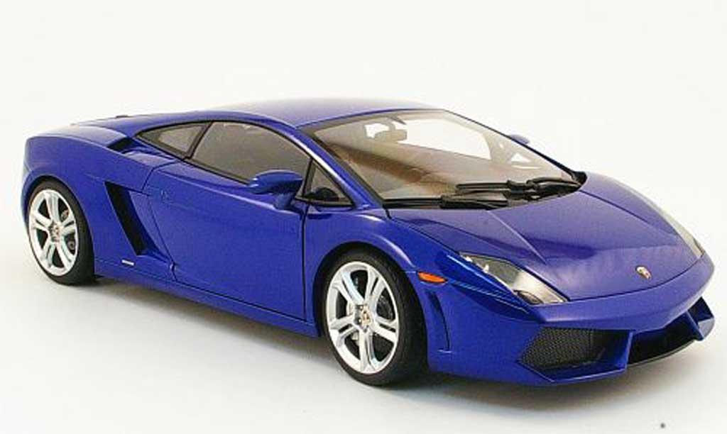 lamborghini gallardo lp560 4 blau 2008 autoart modellauto. Black Bedroom Furniture Sets. Home Design Ideas