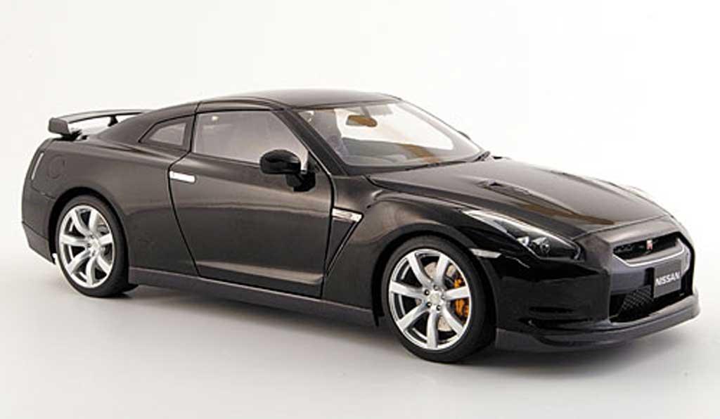 nissan skyline r35 gt r schwarz 2008 autoart modellauto 1 18 kaufen verkauf modellauto. Black Bedroom Furniture Sets. Home Design Ideas
