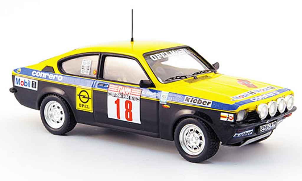 Opel Kadett GT 1/43 Trofeu e no.18 conrero elby rallye 1977 miniature