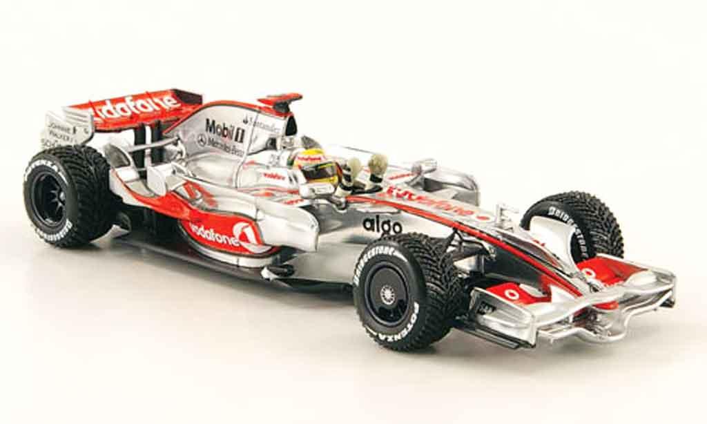 Mercedes F1 1/43 Minichamps McLaren MP 4 23 No.22 Vodafone Weltmeister 2008 miniature