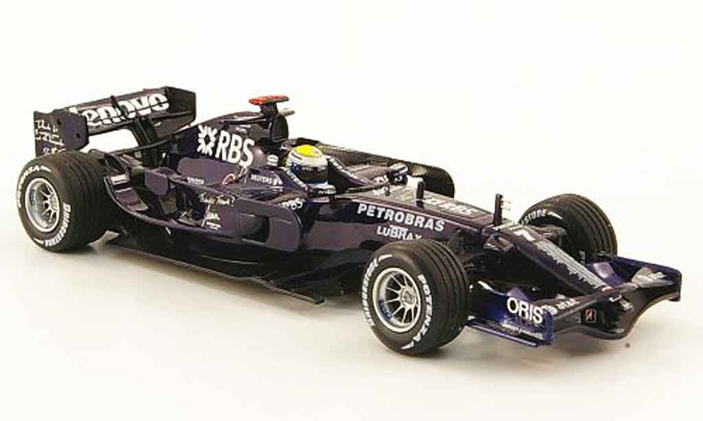 Toyota F1 1/43 Minichamps williams fw 30 no.7 test barcelona 2008 miniature