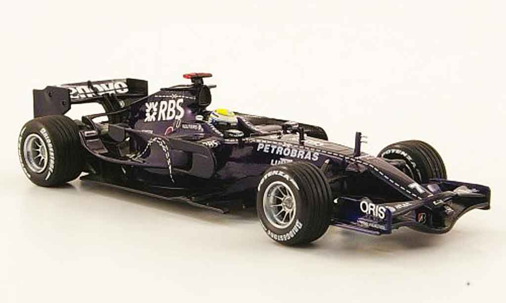 Toyota F1 1/43 Minichamps williams fw30 no.7 rbs n.rosberg 25. 27. februar 2008 miniature