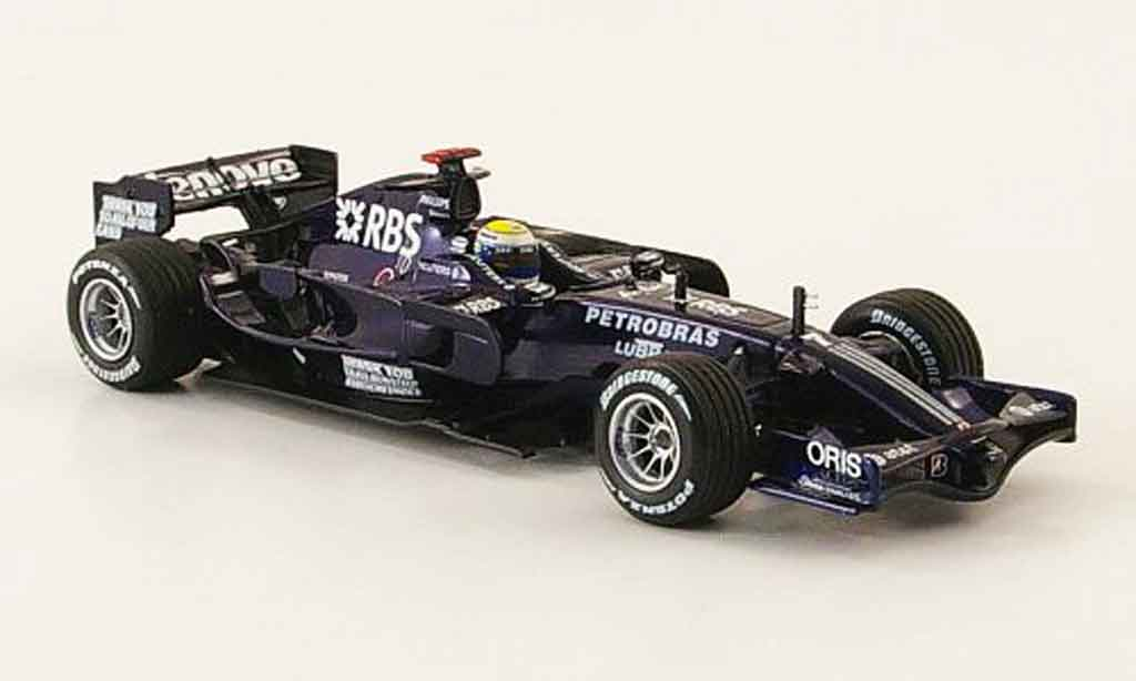 Toyota F1 1/43 Minichamps williams fw30 no.7 rbs n.rosberg 21. 24.januar 2008 miniature