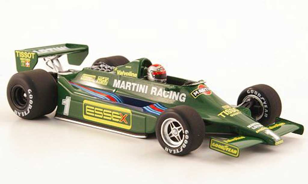 Ford F1 1979 1/43 Minichamps Lotus 79 No.1 Essex/Martini M.Andretti GP Italien miniature