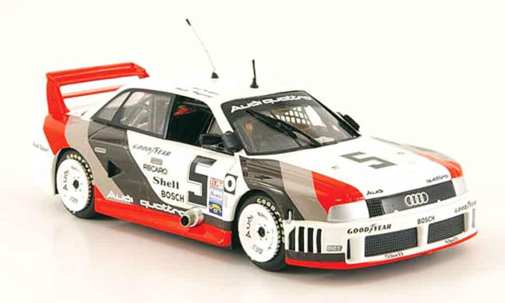 Audi 90 quattro No.5 Road America IMSA 1989 Minichamps. Audi 90 quattro No.5 Road America IMSA 1989 Imsa miniature 1/43