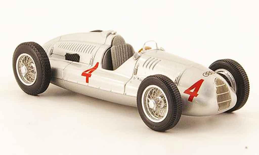 Auto Union Typ D 1/43 Minichamps No.4 Sieger GP Britannien 1938 miniature