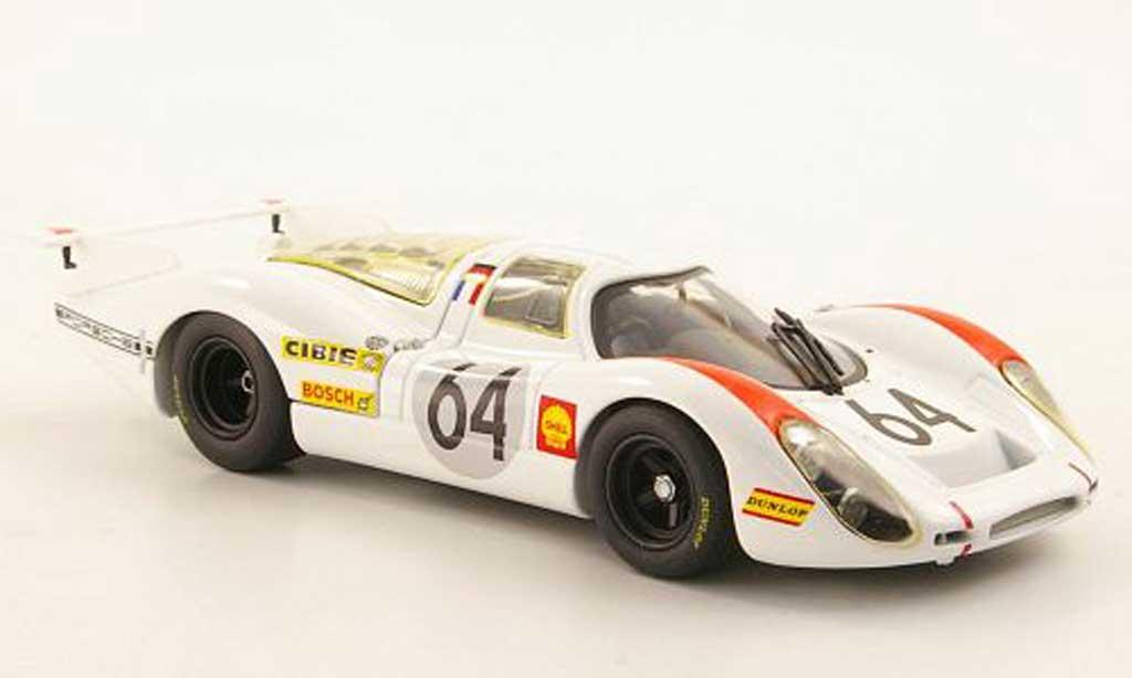 Porsche 908 1969 1/43 Minichamps L No.6Hermann/Larousse 24h Le Mans miniature
