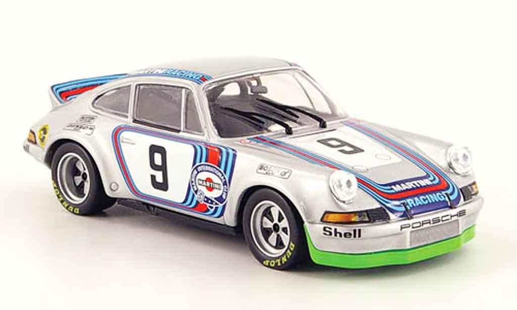 Porsche 911 RSR 1/43 Minichamps 3.0 No.9 Martini 6h Vallelunga 1973 miniature