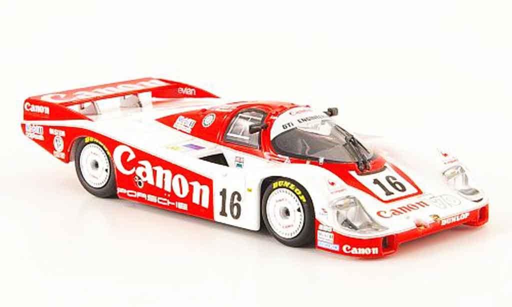 Porsche 956 1984 1/43 Minichamps L No.16 Canon 24h Le Mans diecast model cars