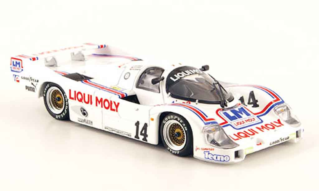 Porsche 956 1986 1/43 Minichamps No.14 Liqui Moly 24h Le Mans miniature