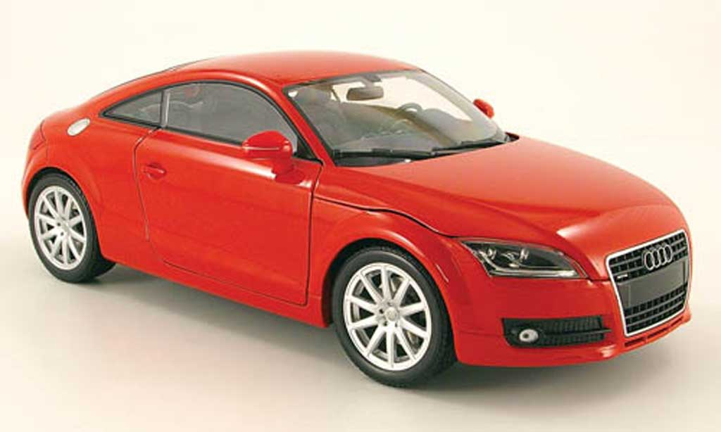 audi tt coupe miniature rouge 2006 minichamps 1 18 voiture. Black Bedroom Furniture Sets. Home Design Ideas