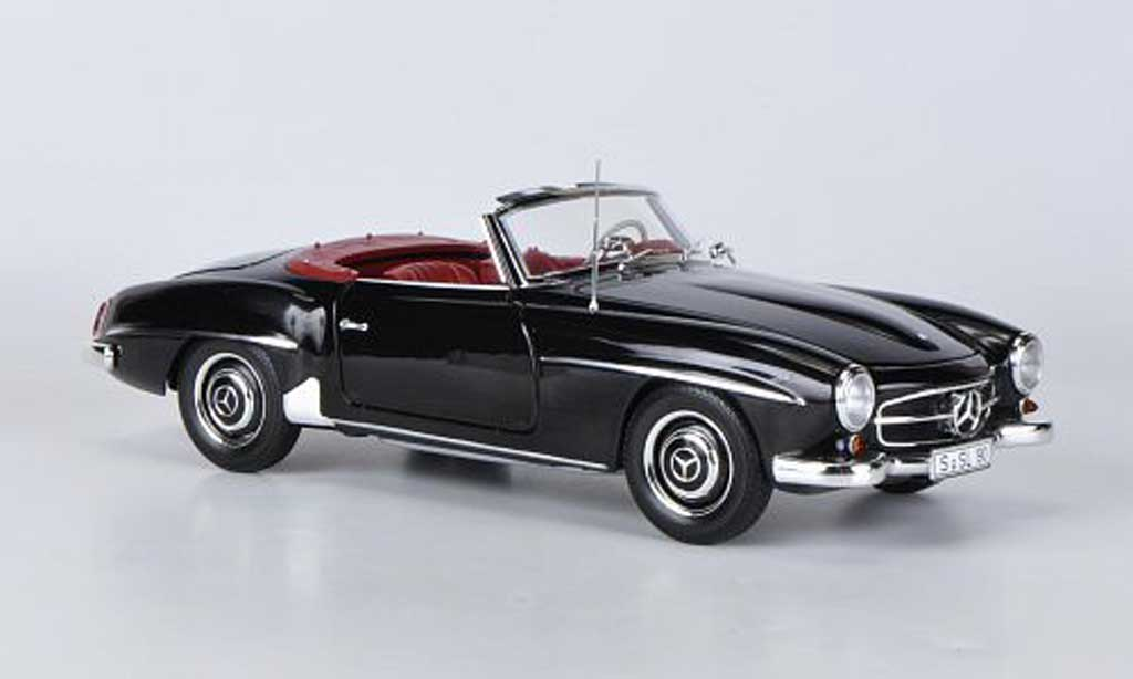 mercedes 190 sl w 121 schwarz 1955 minichamps modellauto. Black Bedroom Furniture Sets. Home Design Ideas