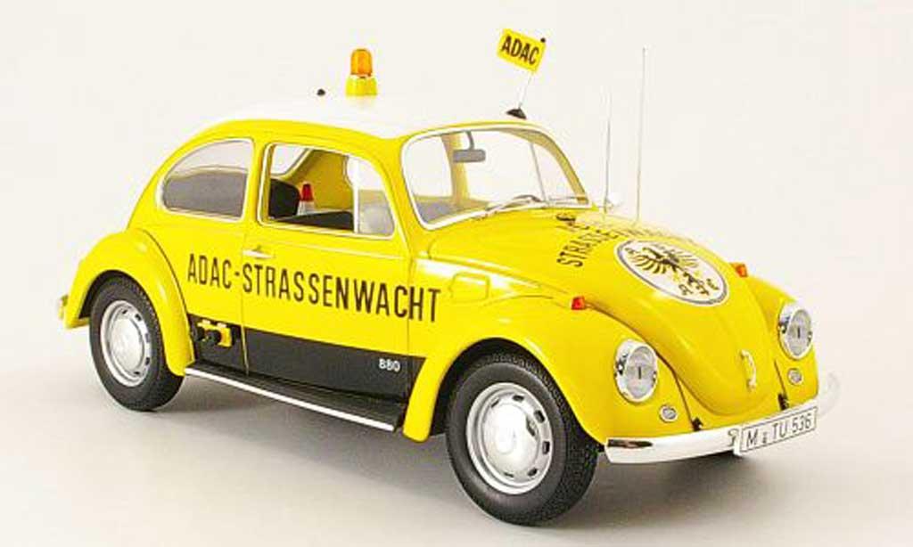 Volkswagen Kafer 1/18 Minichamps 1300 jaune adac 1969 miniature