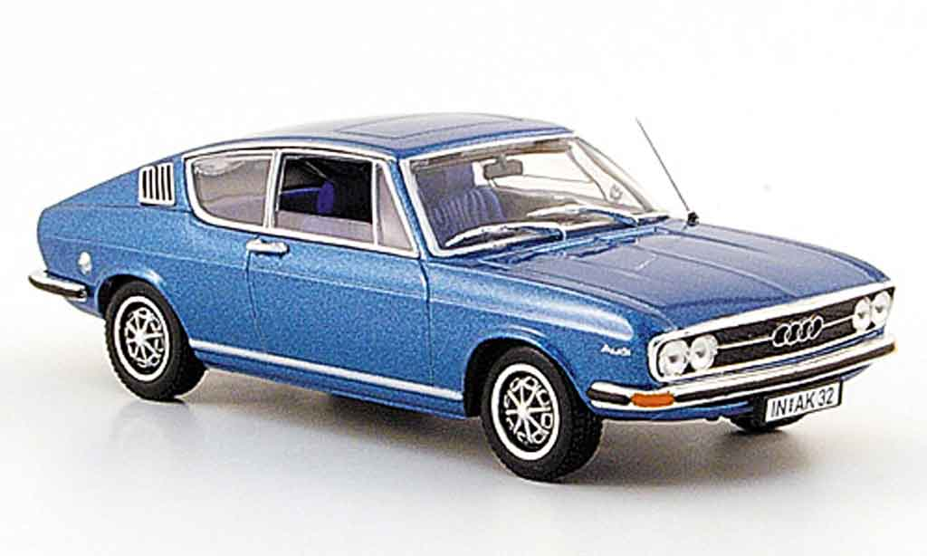 audi 100 coupe s coupe s blau 1969 minichamps modellauto 1 43 kaufen verkauf modellauto. Black Bedroom Furniture Sets. Home Design Ideas