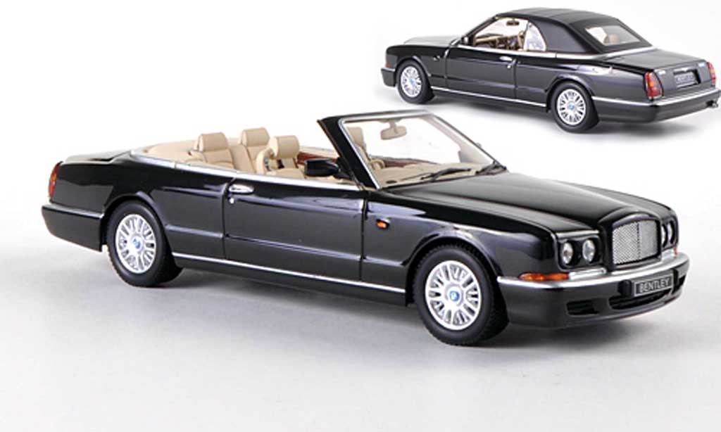 Bentley Azure 1/43 Minichamps noire 1996 miniature