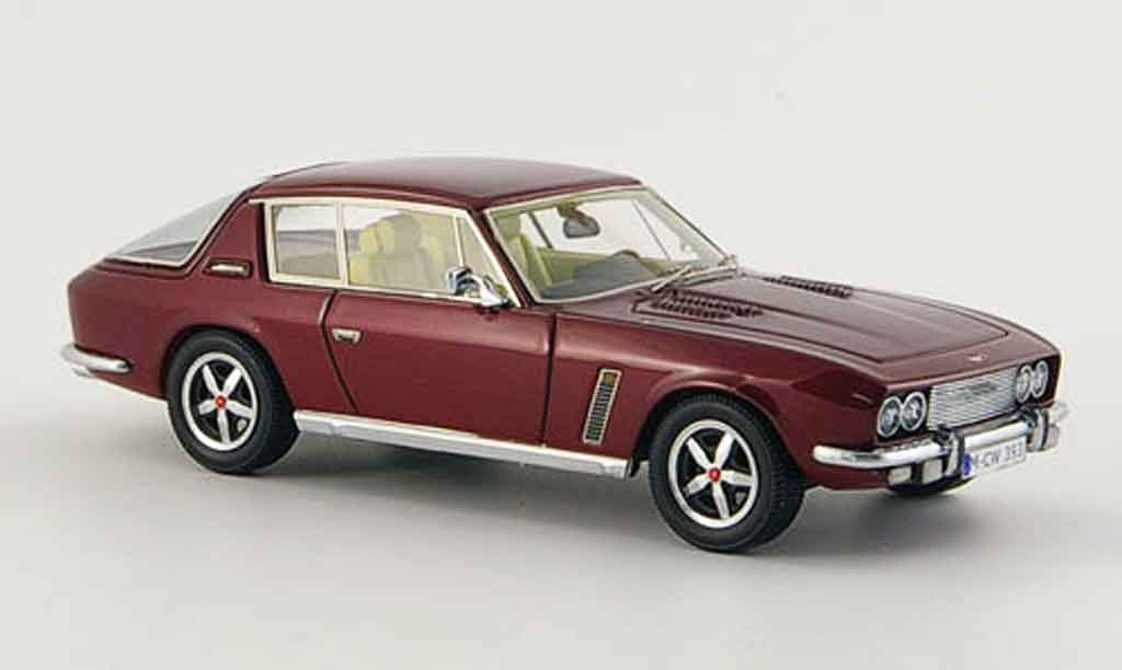 Jensen SIII 1/43 Neo Interceptor rouge 1975 miniature