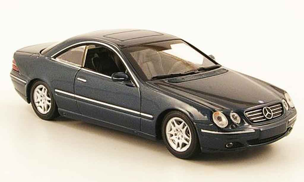 mercedes classe cl miniature c 215 verte 1999 minichamps 1 43 voiture. Black Bedroom Furniture Sets. Home Design Ideas