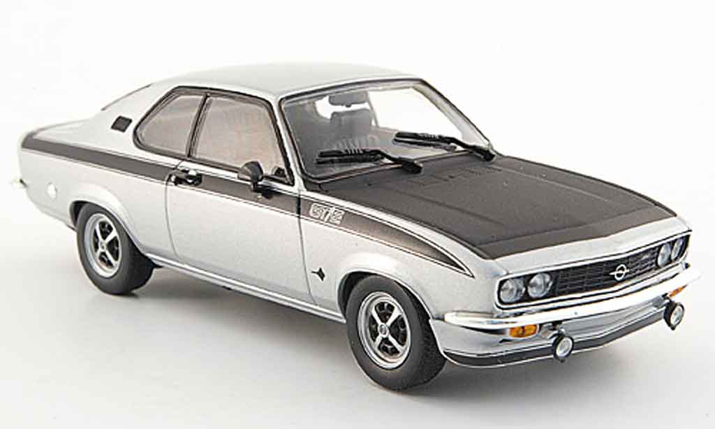 opel manta a gt e grau metallisch 1974 minichamps modellauto 1 43 kaufen verkauf modellauto. Black Bedroom Furniture Sets. Home Design Ideas